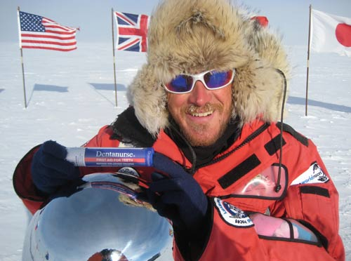 DentaNurse in the South Pole